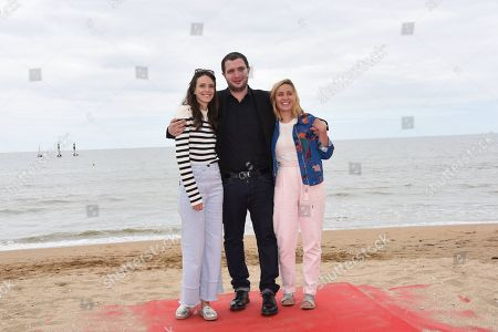 Stock Picture of Stacy Martin, Karim Leklou and Marie Monge