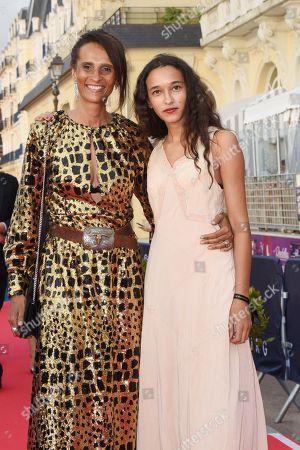 Karine Silla-Perez and daughter