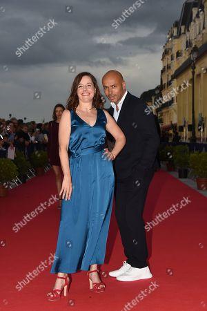 Laure Calamy and Eric Judor