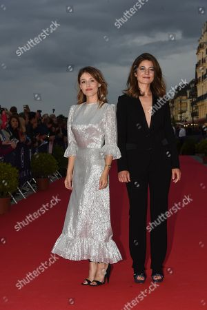 Lola Bessis and Esther Garrel