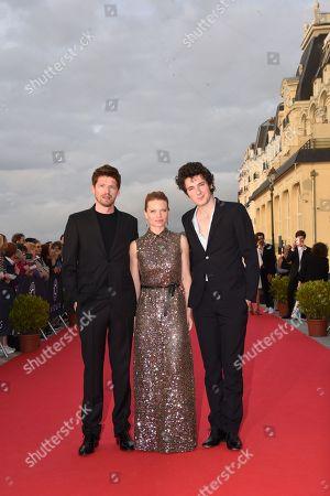 Pierre Deladonchamps, Melanie Thierry and Vincent Lacoste