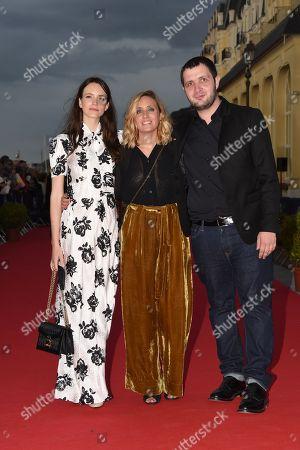 Stacy Martin, Marie Monge and Karim Leklou