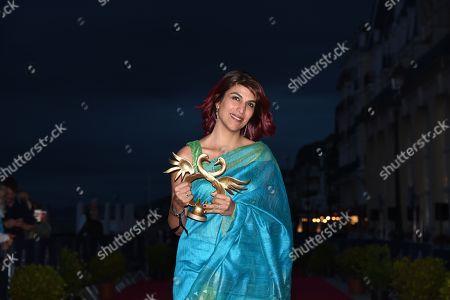 Stock Photo of Winner of the Audience Award Rohena Gera