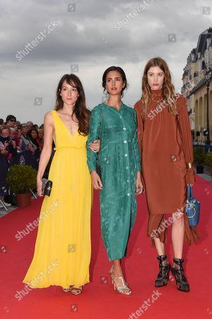 Anais Demoustier, Charline Bourgeois-Tacquet and Sigrid Bouaziz