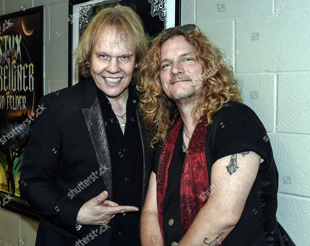 "James ""JY"" Young of Styx and Frank Hannon of Tesla"