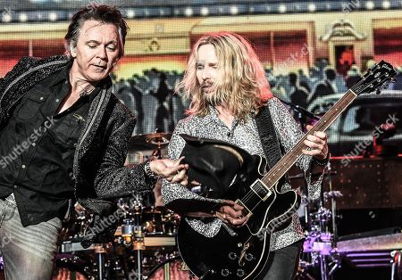 Lawrence Gowan and Tommy Shaw of Styx