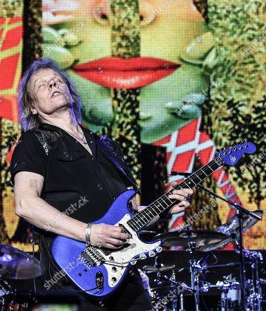 Editorial image of Styx in concert at the Verizon Amphitheatre, Atlanta, USA - 16 Jun 2018