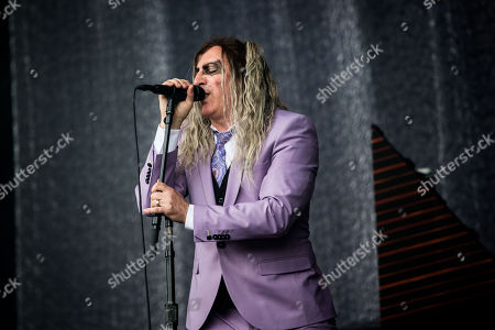 Editorial image of A Perfect Circle in concert, Pinkpop Festival, Landgraaf, The Netherlands - 16 Jun 2018