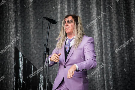 Editorial photo of A Perfect Circle in concert, Pinkpop Festival, Landgraaf, The Netherlands - 16 Jun 2018