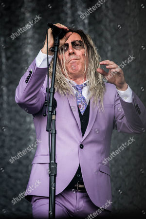 Editorial picture of A Perfect Circle in concert, Pinkpop Festival, Landgraaf, The Netherlands - 16 Jun 2018
