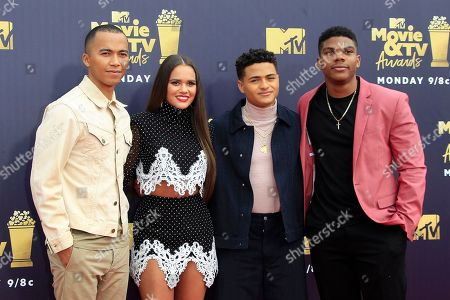 Editorial image of 2018 MTV Movie and TV Awards - Arrivals, Santa Monica, USA - 16 Jun 2018