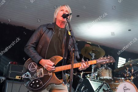 Editorial image of Big Country in concert at The Kelvingrove Bandstand, Glasgow, Scotland, UK - 17 Jun 2018