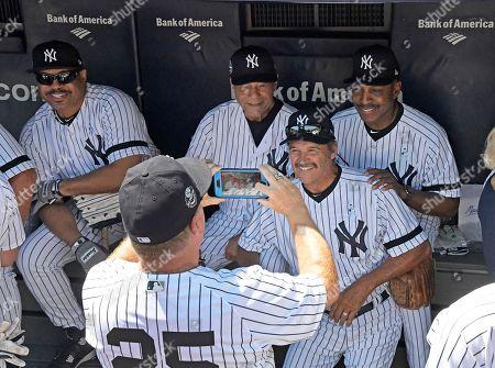 Editorial image of Old Timer's Day Yankees Baseball, New York, USA - 17 Jun 2018