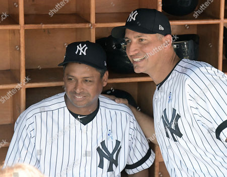 Editorial picture of Old Timer's Day Yankees Baseball, New York, USA - 17 Jun 2018