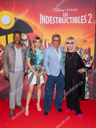 Editorial photo of 'The Incredibles 2' film photocall, Paris, France - 17 Jun 2018