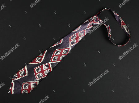 Eddie Valiant's (Bob Hoskins) tie from Robert Zemeckis' Oscar winning detective comedy Who Framed Roger Rabbit. Toon-hating private investigator Valiant wore his signature tie throughout the movie as he grudgingly helped Roger Rabbit clear his name and discover the truth about the inheritance of Toontown.