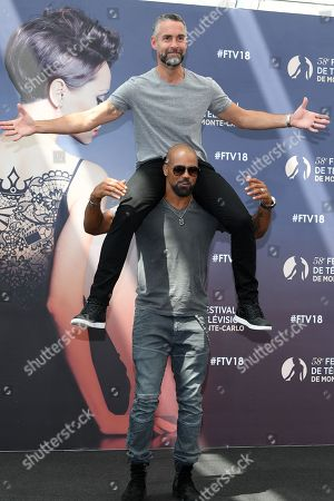 Jay Harrington and Shemar Moore from the serie 'S.W.A.T'