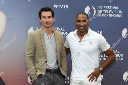 Jay Hayden and Jason Winston George from the serie 'Station 19'