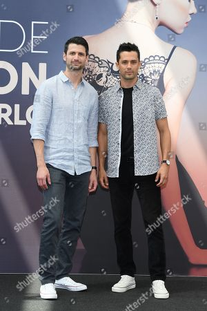 James Lafferty and Stephen Colletti from the serie 'Everyone is Doing Great'