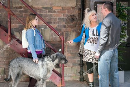 Ep 9488 & Ep 9489 Friday 22nd June 2018 Beth Tinker's, as played by Lisa George, outraged to realise that Sharon is the mysterious Mrs B, and far from the elderly lady Kirk Sutherland, as played by Andy Whyment, made out! Enjoying Beth's obvious fury, Sharon, as played by Natalie Burt, compliments Kirk on the shirt she bought him.