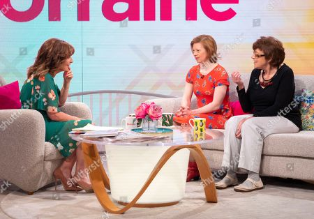 Lorraine Kelly, Sarah Gordy and mum Jane