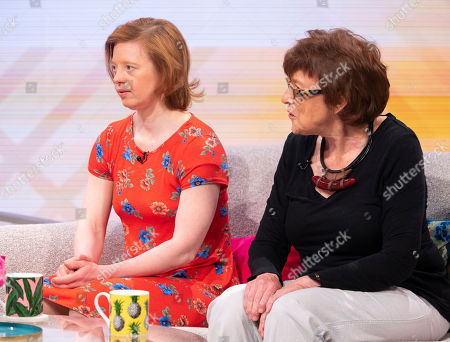 Stock Picture of Sarah Gordy and mum Jane