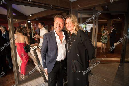 Jerome Anthony and Luana Belmondo