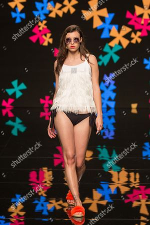 Paula Boluda   on catwalk