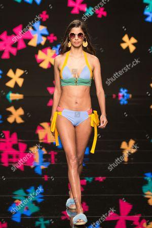 Stock Photo of Kelie Santos   on catwalk