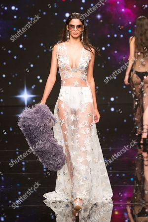 Stock Image of Kelie Santos   on catwalk