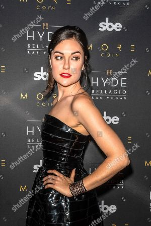 Editorial picture of Stereo Hyde event, Hyde Nightclub, Bellagio Hotel & Casino, Las Vegas, USA - 17 Jun 2018