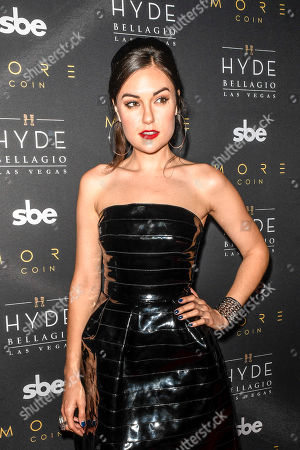 Editorial image of Stereo Hyde event, Hyde Nightclub, Bellagio Hotel & Casino, Las Vegas, USA - 17 Jun 2018