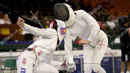 Editorial picture of Fencing European Championships, Novi Sad, Serbia - 18 Jun 2018