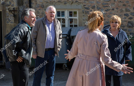 Ep 8182 & Ep 8183 Thursday 21st June 2018 Laurel Thomas, as played by Charlotte Bellamy, and Brenda Walker, as played by Lesley Dunlop, come to blows over Doug Potts, as played by Duncan Preston, resulting in a food fight