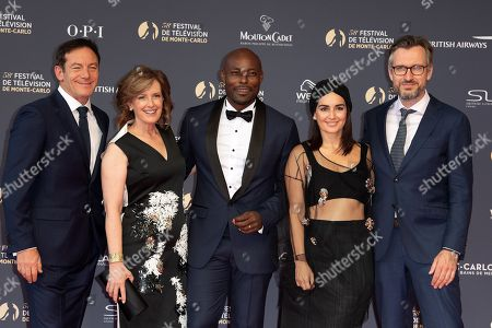 Editorial image of 58th International Television Festival opening ceremony, Monte Carlo, Monaco - 15 Jun 2018