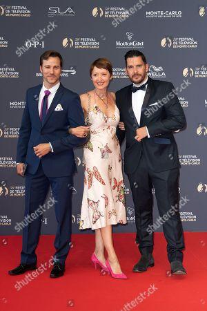 Editorial image of 58th International Television Festival opening ceremony, Monte Carlo, Monaco - 15 Jun 2018