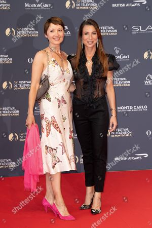 Cecile Caillaud and Jennifer Lauret