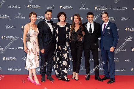 Cecile Caillaud, Alexandre Thibault, Anny Duperey, Jennifer Lauret, Kamel Belghazi and Karl E. Landler