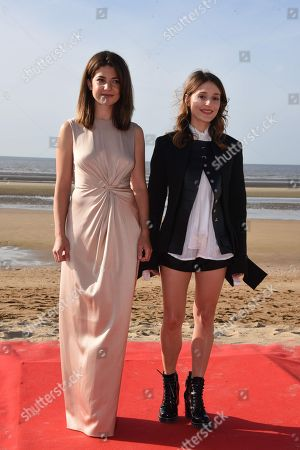 Esther Garrel and Lola Bessis