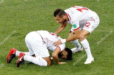 Ferjani Sassi of Tunisia and Ali Maaloul of Tunisia
