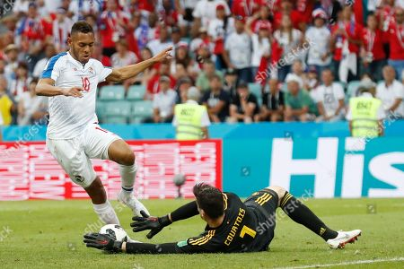 Editorial image of Russia Soccer WCup Belgium Panama, Sochi, Russian Federation - 18 Jun 2018