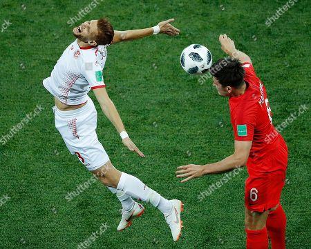 Editorial picture of Russia Soccer WCup Tunisia England, Volgograd, Russian Federation - 18 Jun 2018