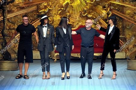 Editorial picture of Dolce and Gabbana show, Runway, Spring Summer 2019, Milan Fashion Week Men's, Italy - 16 Jun 2018