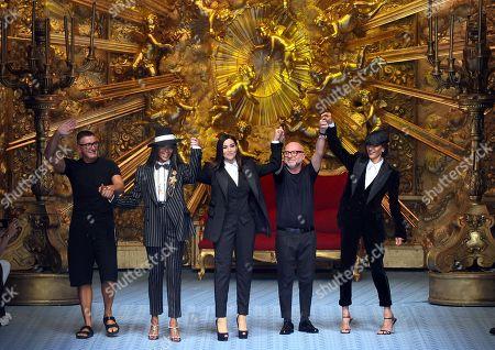 Editorial image of Dolce and Gabbana show, Runway, Spring Summer 2019, Milan Fashion Week Men's, Italy - 16 Jun 2018