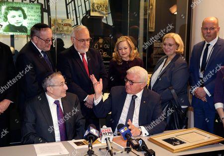 Editorial image of German President Steinmeier visits Museum of Tolerance, Los Angeles, USA - 18 Jun 2018