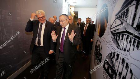 Editorial picture of German President Steinmeier visits Museum of Tolerance, Los Angeles, USA - 18 Jun 2018
