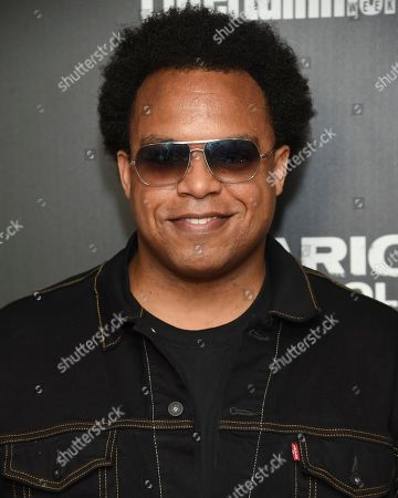 """Jazz pianist Eric Lewis attends a special screening of Columbia Pictures' """"Sicario: Day of the Soldado"""" at Meredith, Inc., in New York"""