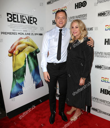 Dan Reynolds and Heather Parry (LiveNation Productions)