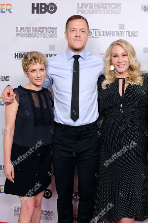 Sara Bernstein (Producer), Dan Reynolds and Heather Parry (LiveNation Productions)