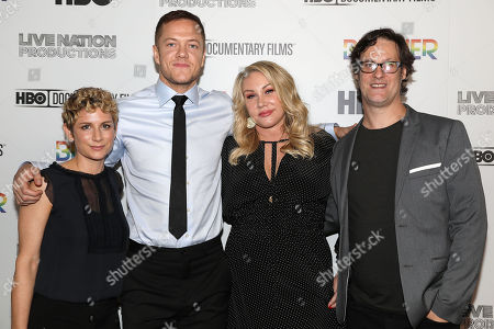 Sara Bernstein, Dan Reynolds, Heather Parry and Don Argott (Director)